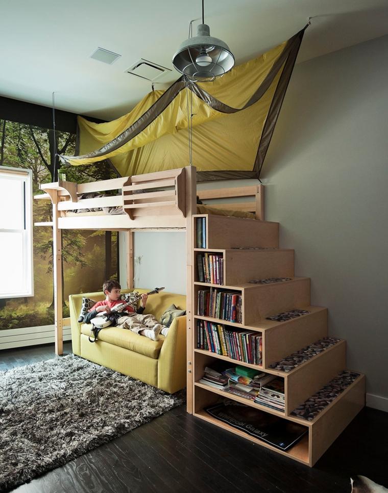 Arredo camera da letto moderna idee salvaspazio e for Soluzioni salvaspazio camera