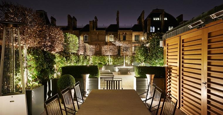 illuminazione giardino proposta luci diffuse