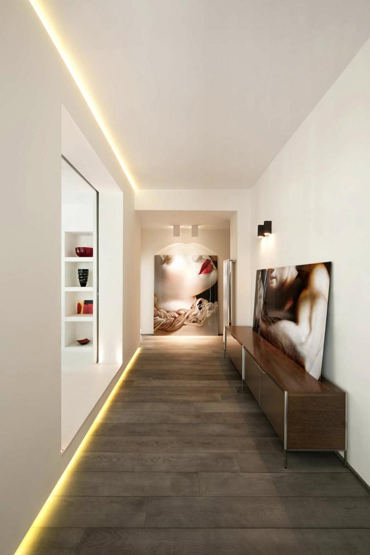 illuminazione interna design moderno ambiente elegante
