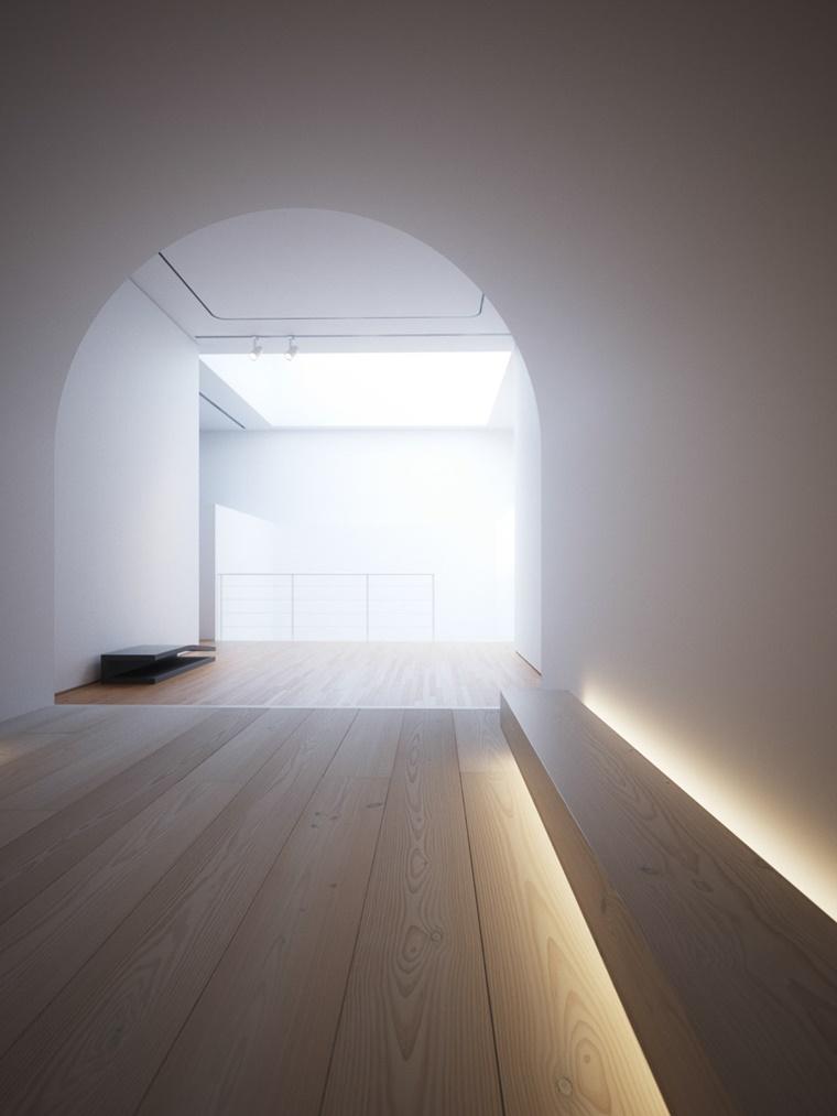 illuminazione led nasconta ambiente spazioso