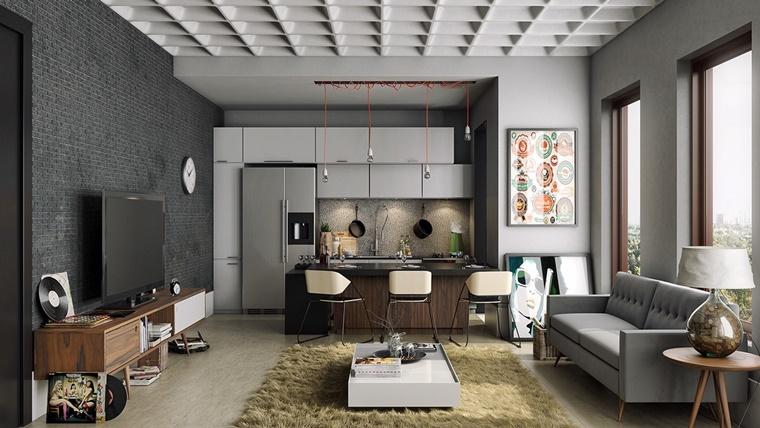 illuminazione moderna ambiente design contemporaneo