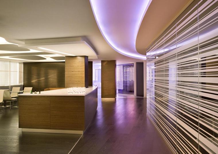 illuminazione moderna ambiente design stravagante