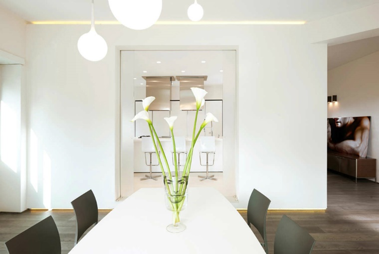 Illuminazione moderna per interni luce incorporata e soluzioni di