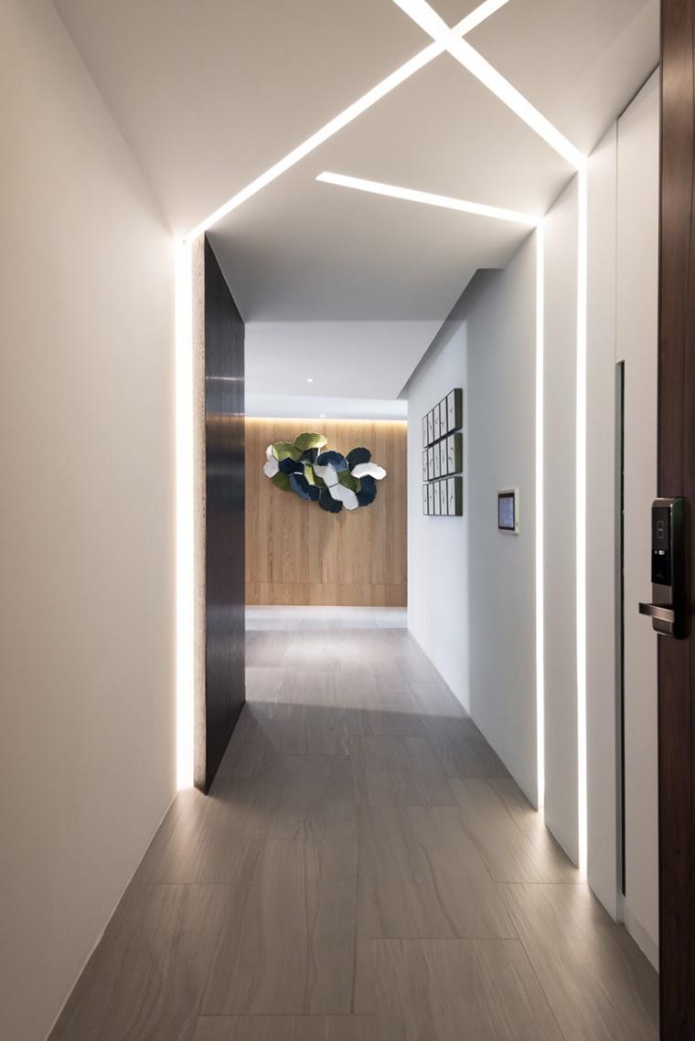 Illuminazione moderna per interni luce incorporata e - Illuminazione led interni casa ...
