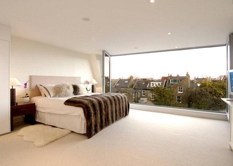 infissi moderni proposta panoramica camera letto
