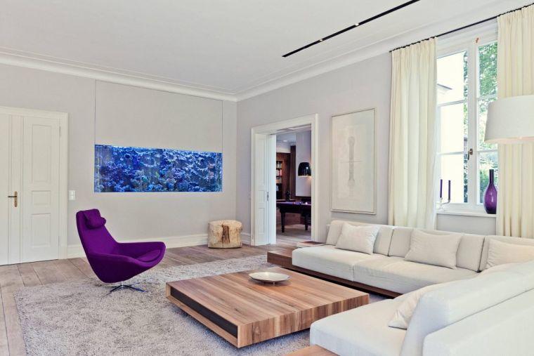 Soggiorno Moderno Bianco Interior Design : Arredamento soggiorno in stile moderno mobili e