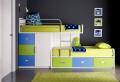 Letti a castello, un mondo di idee graziose per le camerette bambini