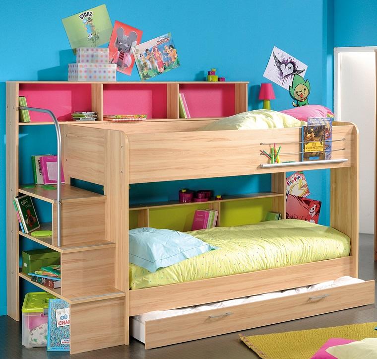 Letti a castello, un mondo di idee graziose per le camerette bambini - Archzine.it