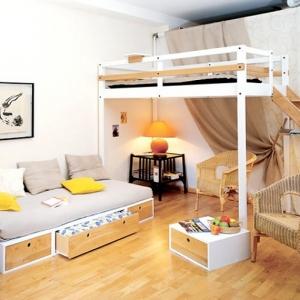 1001 idee come arredare la camera da letto con stile for Letti a soppalco per adulti