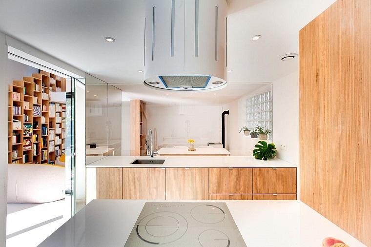 libreria design gradini cucina moderna