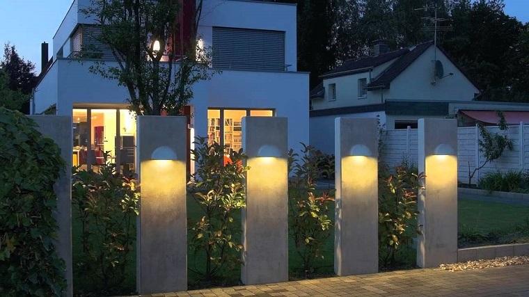 Luci da giardino design elegante luci da esterno applique