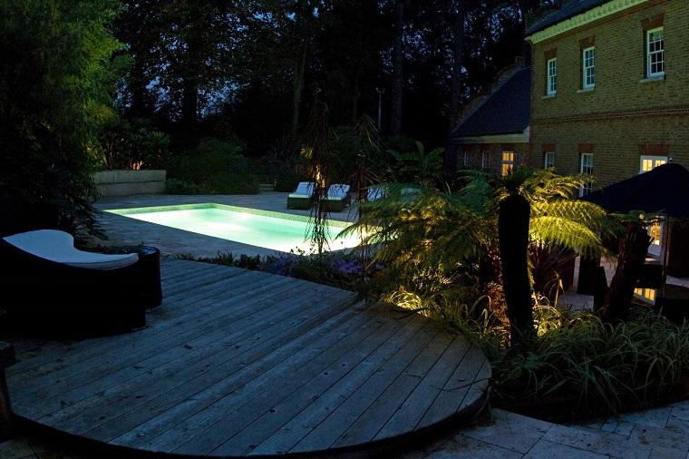 luci da giardino proposta suggestiva