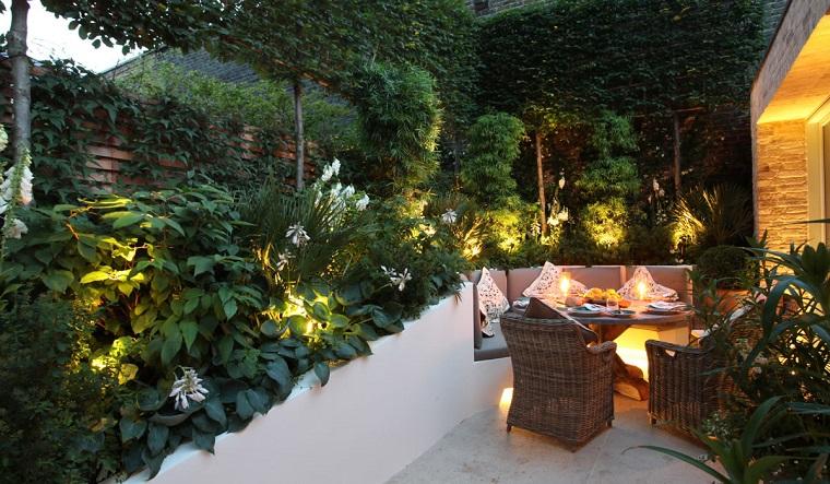 luci giardino proposta interno piante