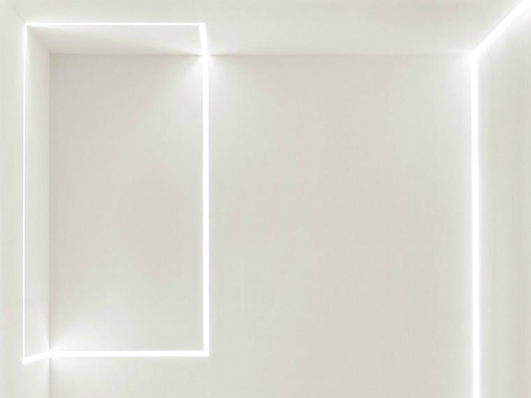 luci led illuminazione moderna avanguardia parete