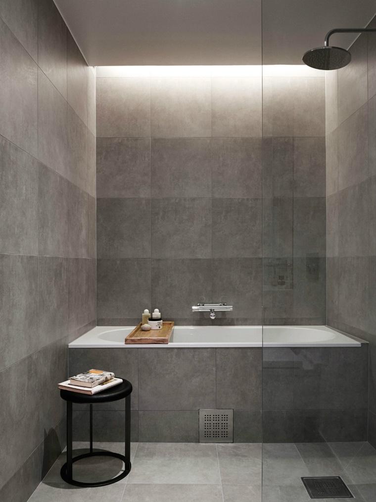 lucine incorporate soffitto bagno design moderno