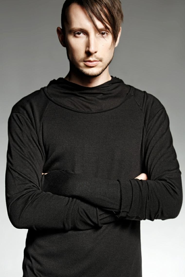 maglietta semplice nera alta qualita uomo