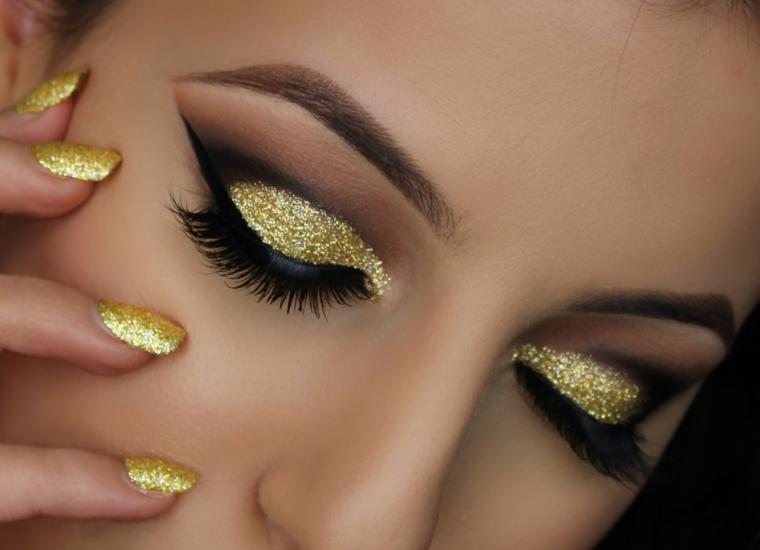 make up capodanno idea originale
