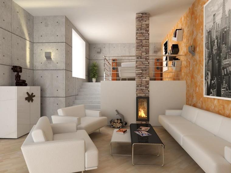 Arredamento soggiorno in stile moderno mobili e decorazioni di design - Piccolo divano imbottito ...