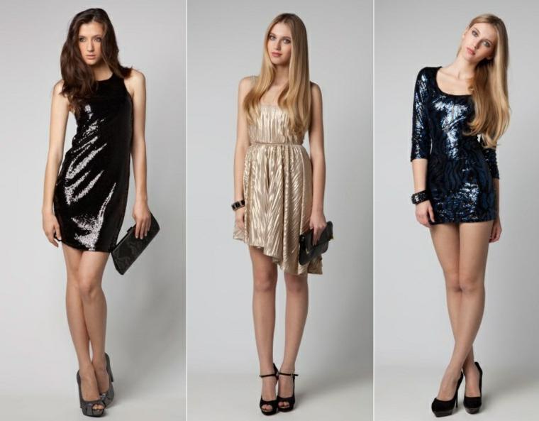 moda idee vestiti glamour capodanno