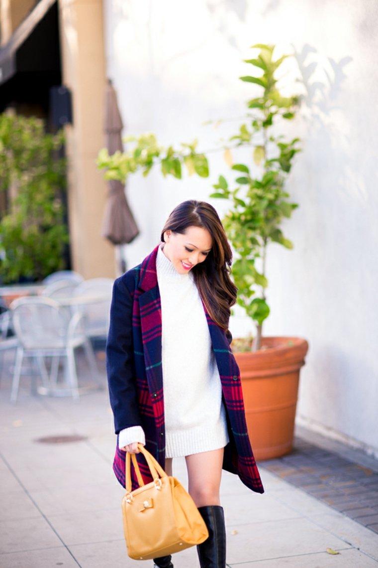moda invernale donne incinte stile