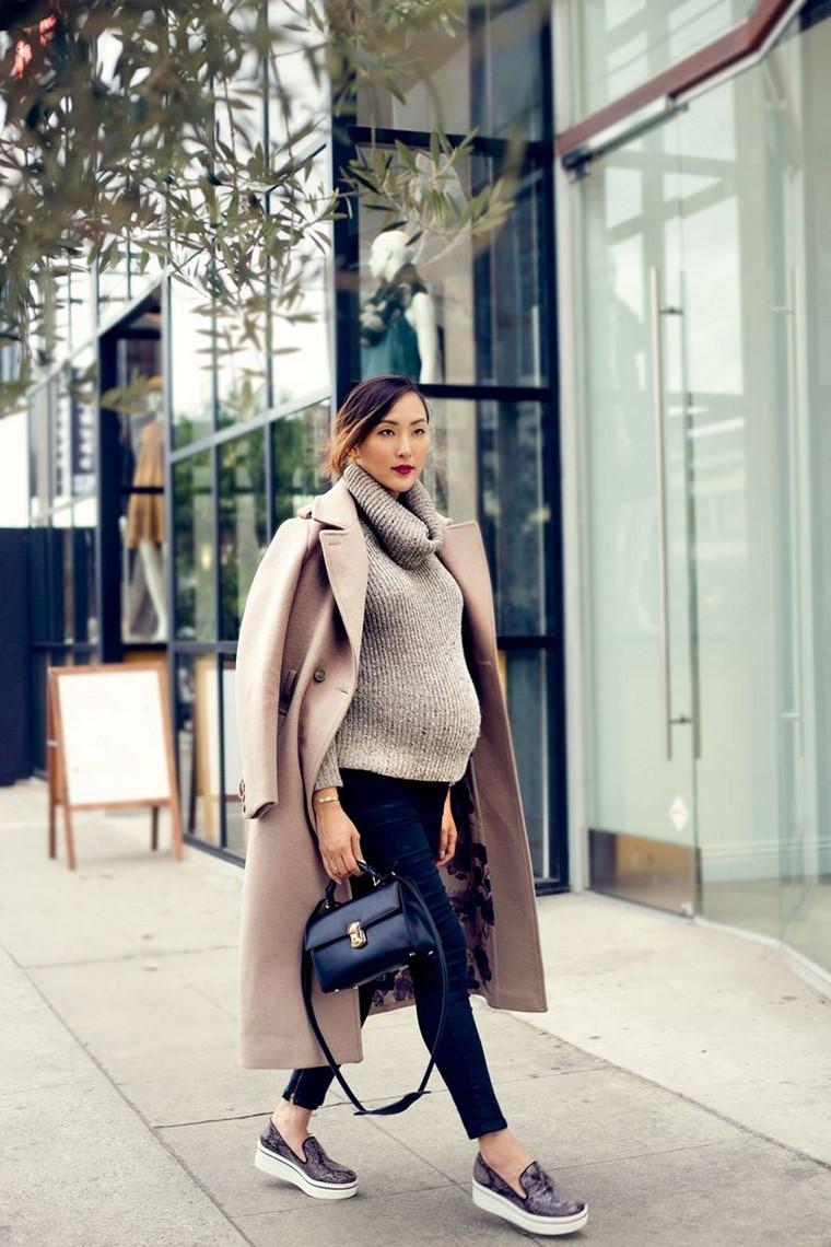 moda premaman invernale donne incinte