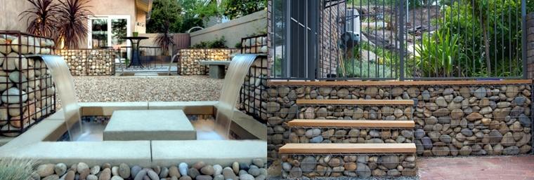 muri contenimento giardino funzionali decorativi