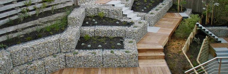 muri di sostegno gabbie metalliche pietre