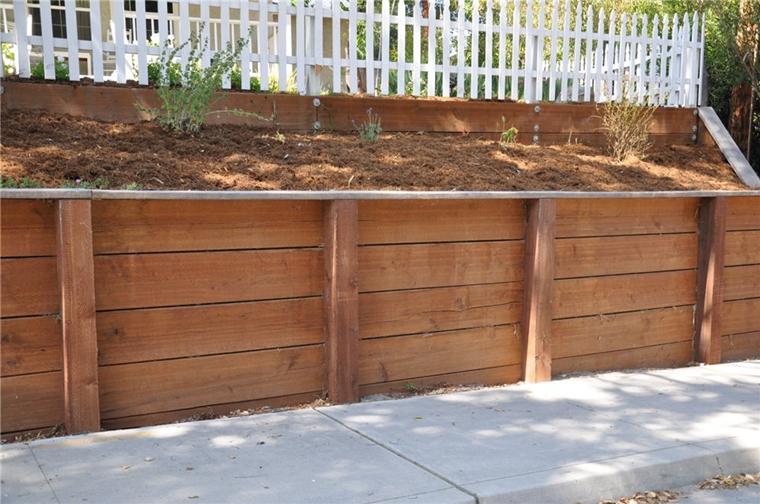 muri di sostegno incredibile legno