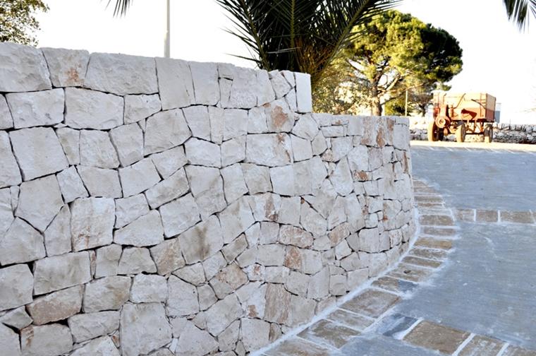 muri di sostegno secco alti