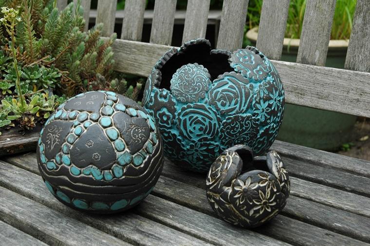 oggetti in ceramica giardino design originale