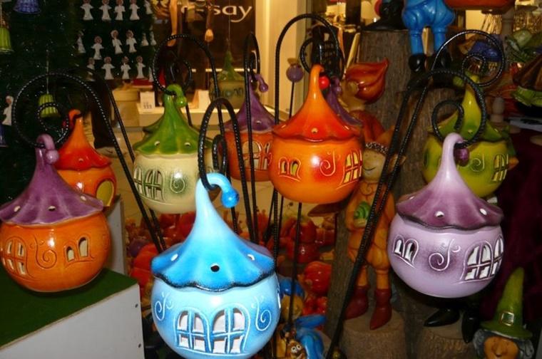 Oggetti in ceramica decorazioni adorabili per il for Oggetti per giardino