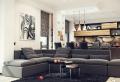 Open space – cucina e salotto con design moderno 2 in 1