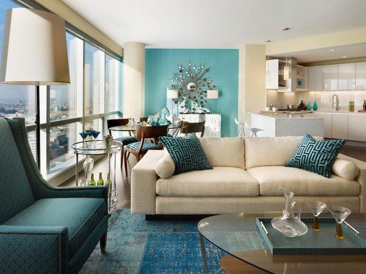 Open space - cucina e salotto con design moderno 2 in 1 - Archzine.it