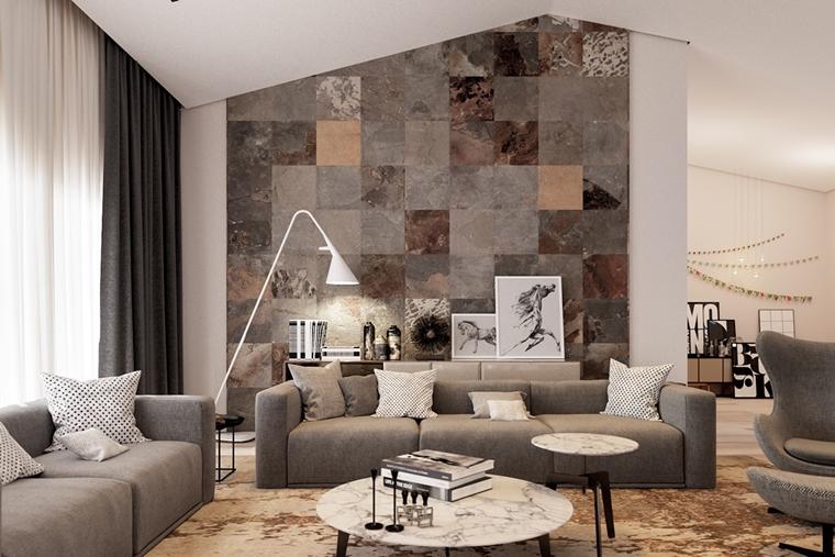 Emejing Idee Soggiorno Moderno Contemporary - Idee Arredamento Casa ...