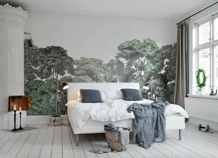 Pareti camera da letto: tante idee creative per uno spazio ...
