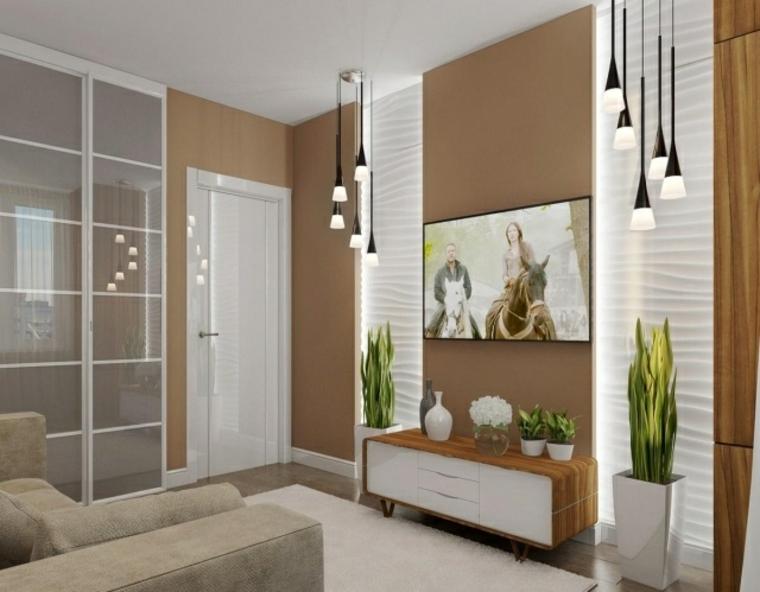particolare originale soggiorno design moderno semplice