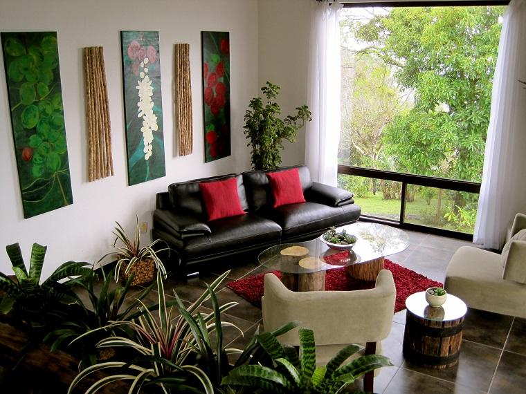 piante da appartamento idea soggiorno design