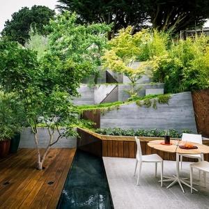 Idee fai da te giardino lo spazio esterno si veste di originalit - Piante per giardino giapponese ...