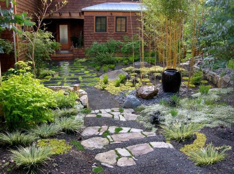 piante da giardino giapponese idea bambu