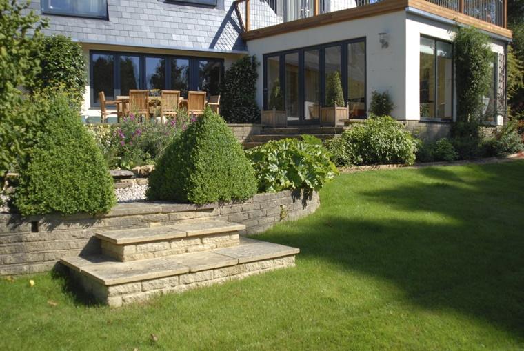 piante da giardino sempreverdi cortile casa