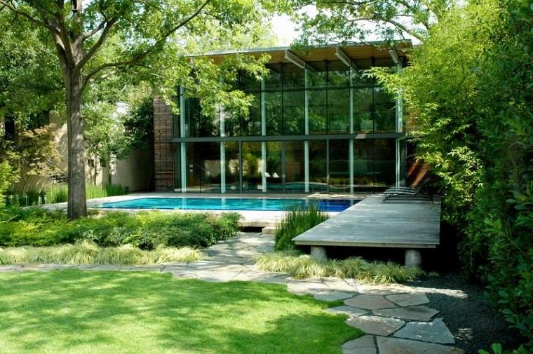 piante ornamentali da giardino piscina