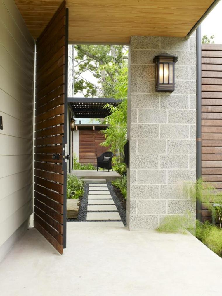Cancelli tante idee per la vostra porta da giardino - Cancelli in legno per giardino ...