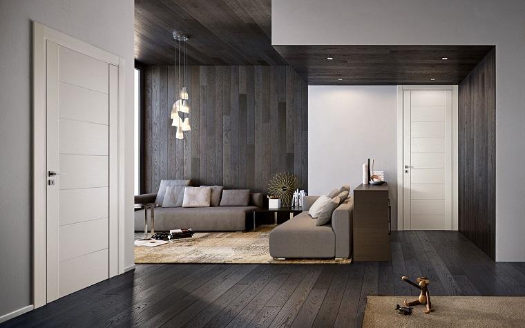 porte interne moderne effetto elegante sobrio