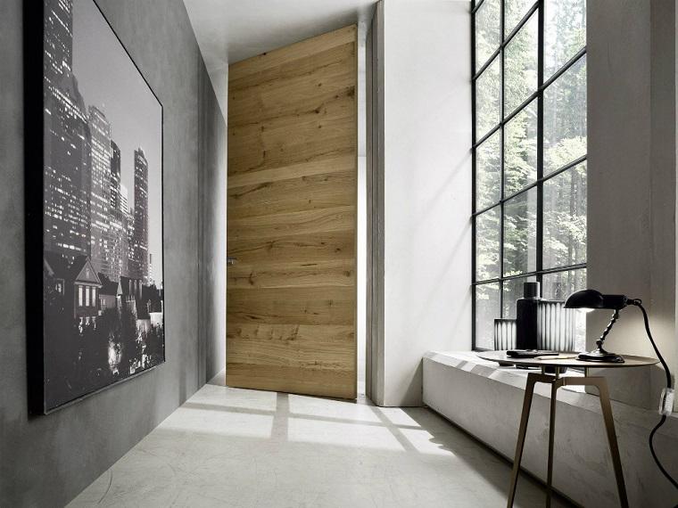 porte interne moderne legno effetto naturale