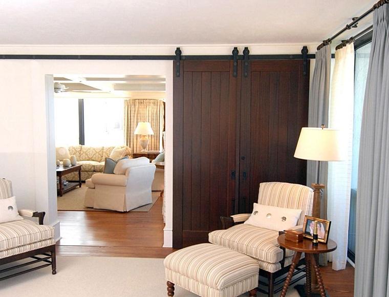 porte interne moderne legno effetto rustico