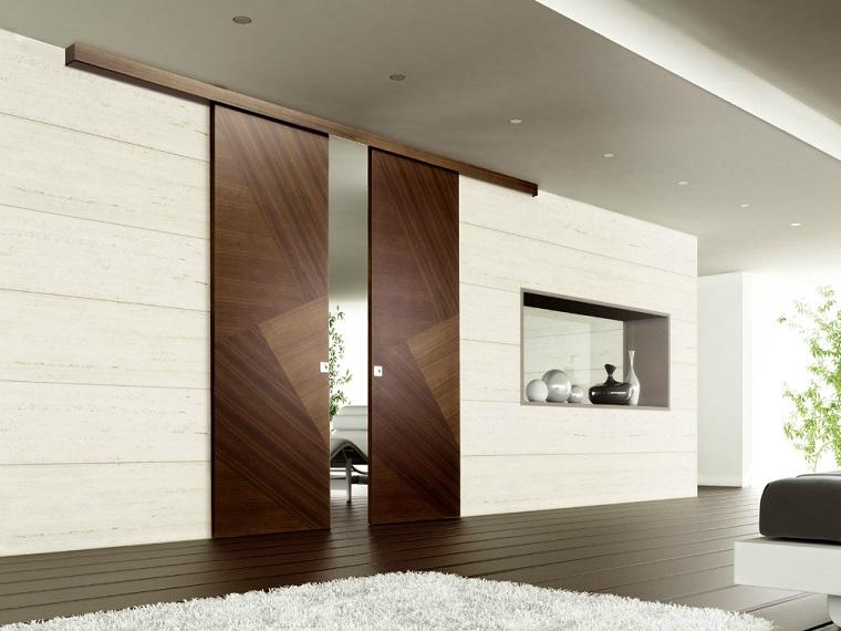 porte interne moderne scorrevoli legno
