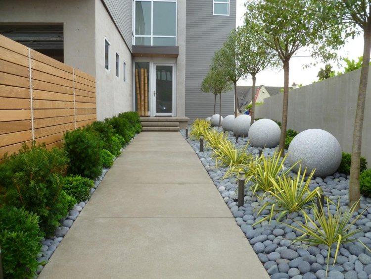 Giardini Moderni Immagini : Progettazione giardini in stile minimal tantissimi spunti da copiare