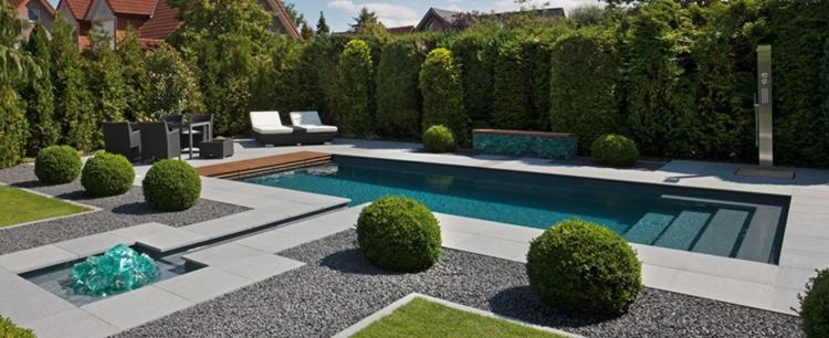 Progettazione giardini in stile minimal tantissimi for Giardini moderni design