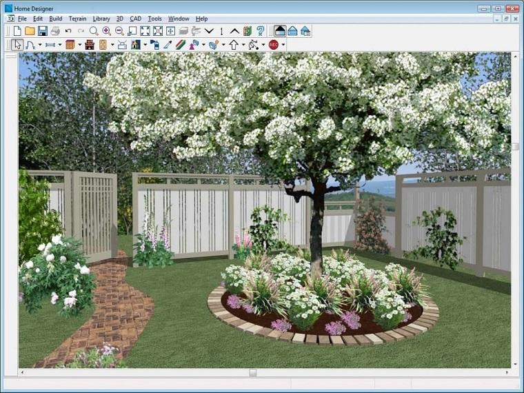 Progettazione giardino 3d creare l 39 area verde online for Programma per creare casa in 3d gratis