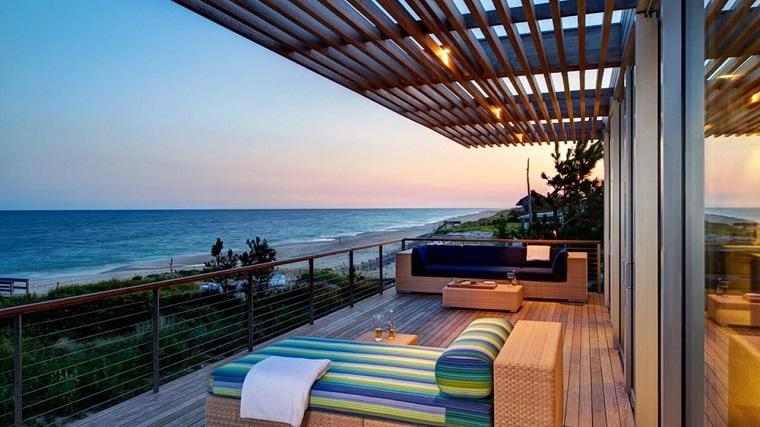 ringhiere per balconi ferro design moderno elegante